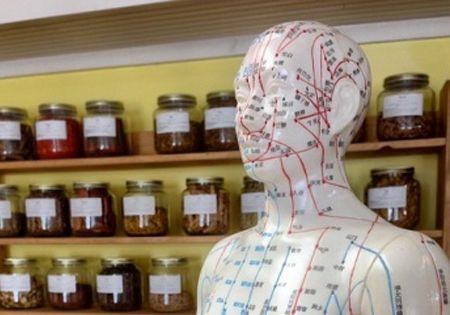 Akupunkturpunkte Koerper