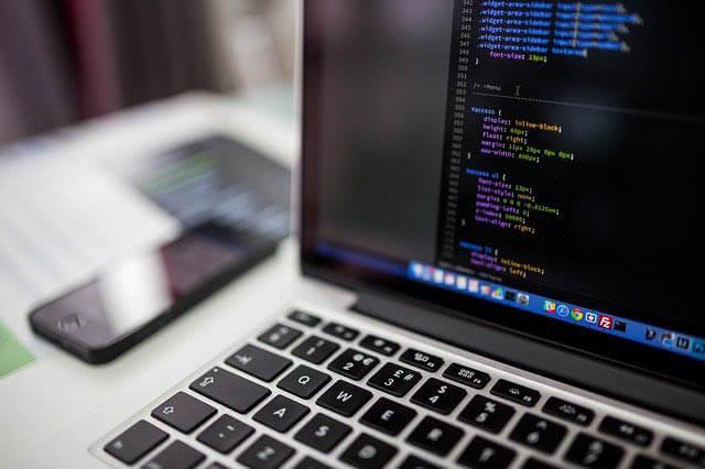 computer laptop code