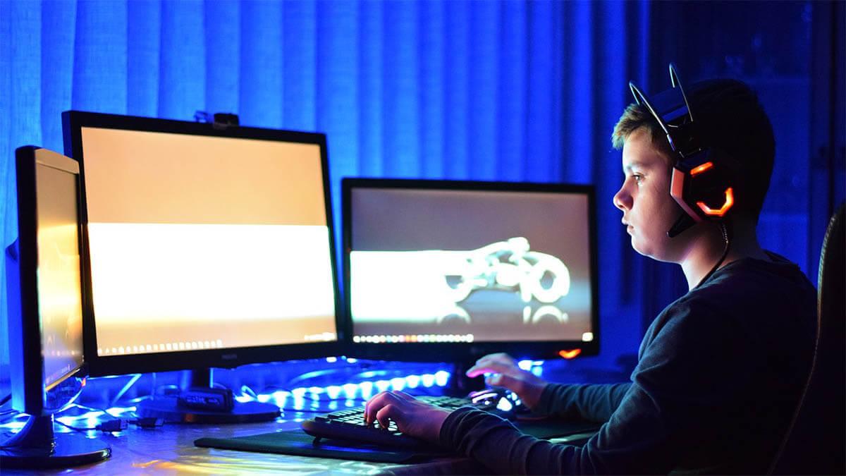 computerspiele kind an