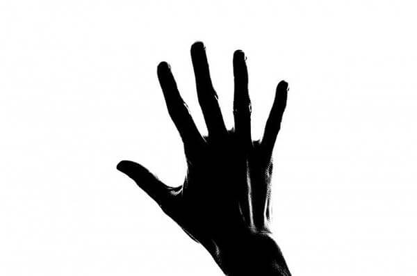 hand silhuette