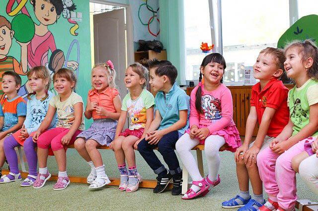 kindergarten kinder lachen klein