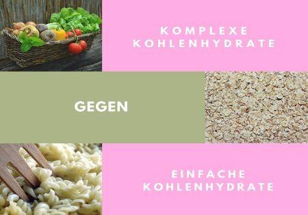 komplexe kohlenhydrate einfache kohlenhydrate
