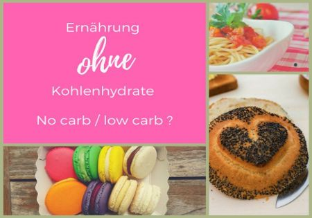 low carb wenig kohlenhydrate