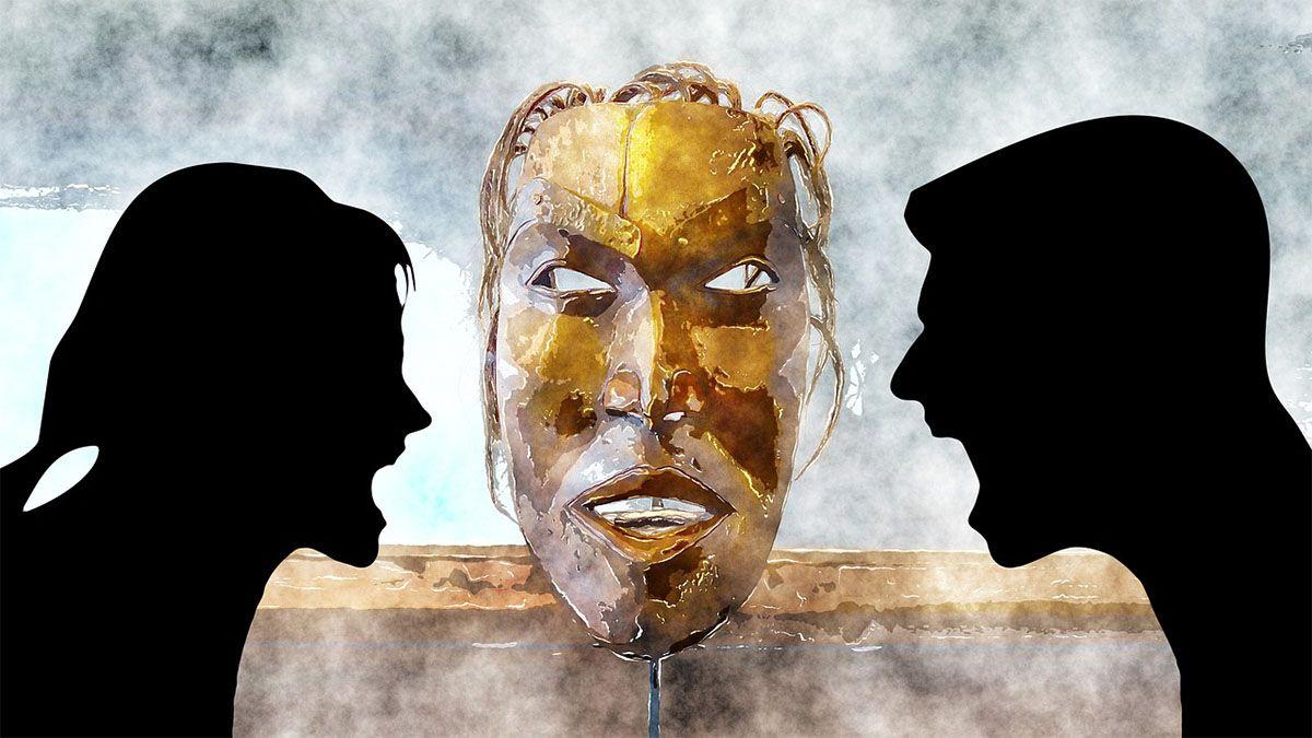 mann-frau-konflikt-maske