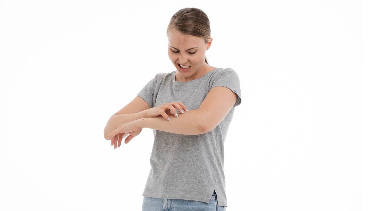 neurodermitis-arm-jucken