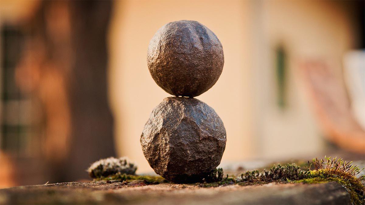 ruhende steine harmonie