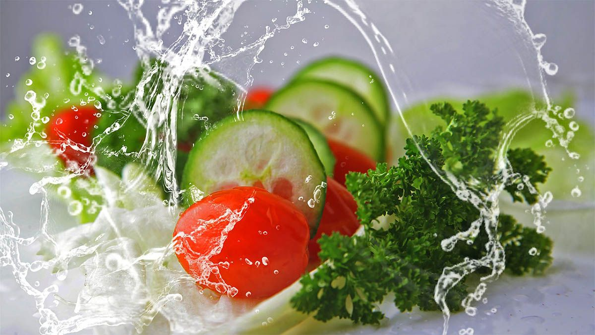 salat tomate gurke