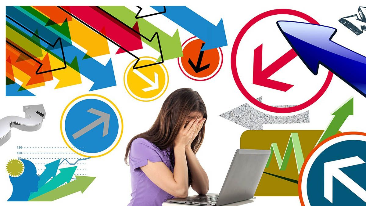 stress krise haende ins gesicht
