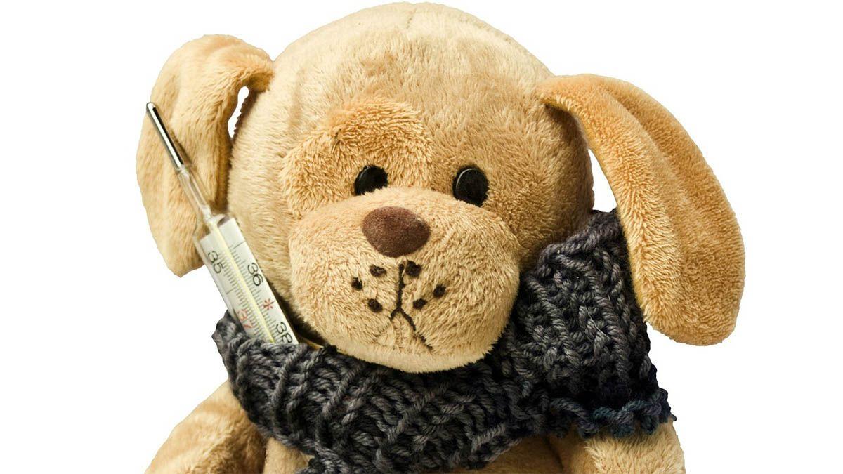 teddybaer-krank-fieberthermometer