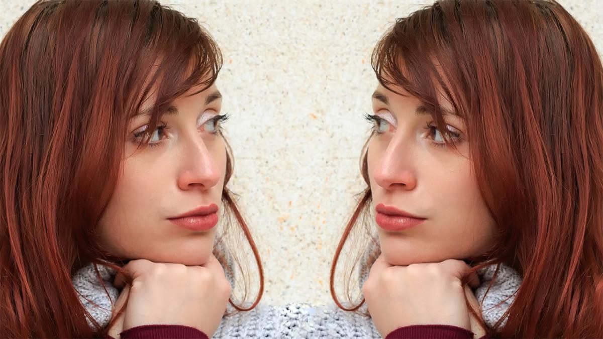 zwei-gesichter-schauen-sich-an