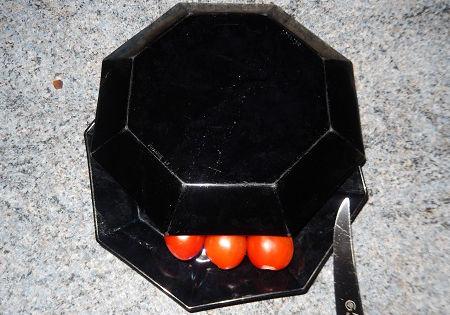 cherrytomaten schneiden