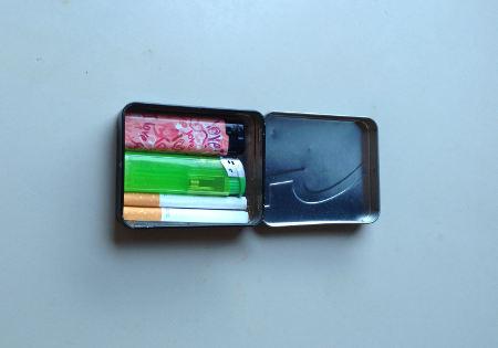 kaugummidose zigarettenetui