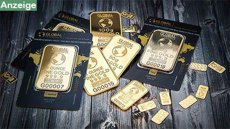 gold-auf-holzablage