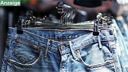 jeans-kleiderstange