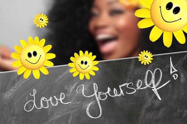 love yourself frau blumen klein