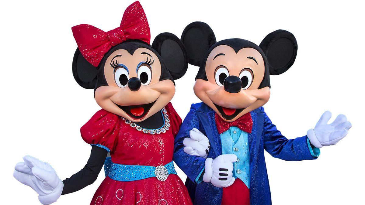 mickey und minni mouse