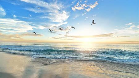 moeven-strand-sonnenaufgang
