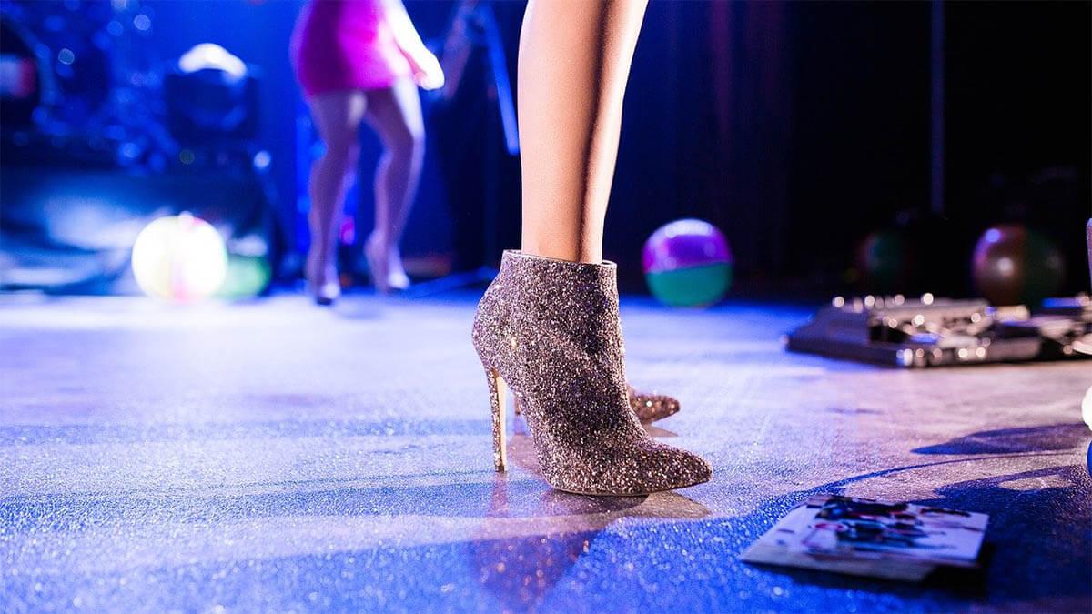 party high heels an