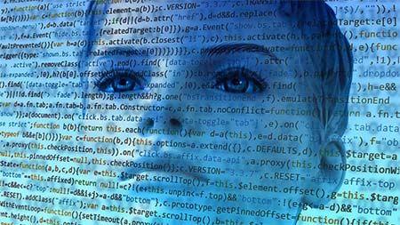 gesicht-programmcode