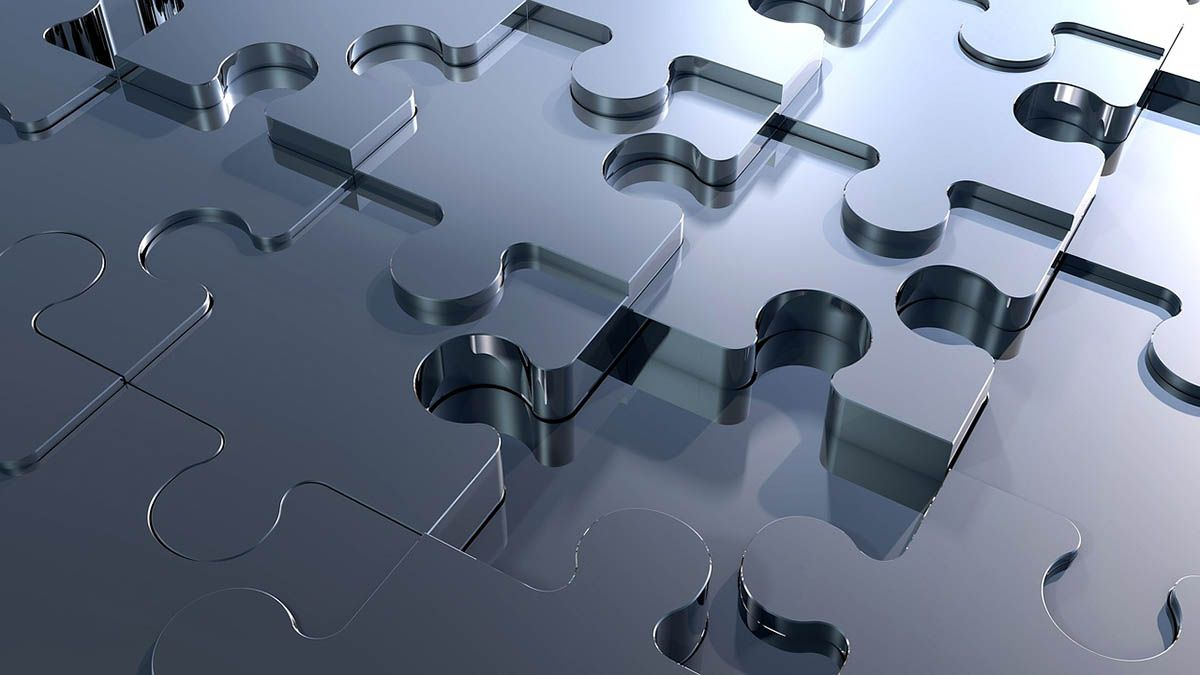 puzzleteile-metall