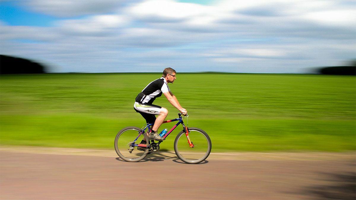 schnell fahrrad fahren