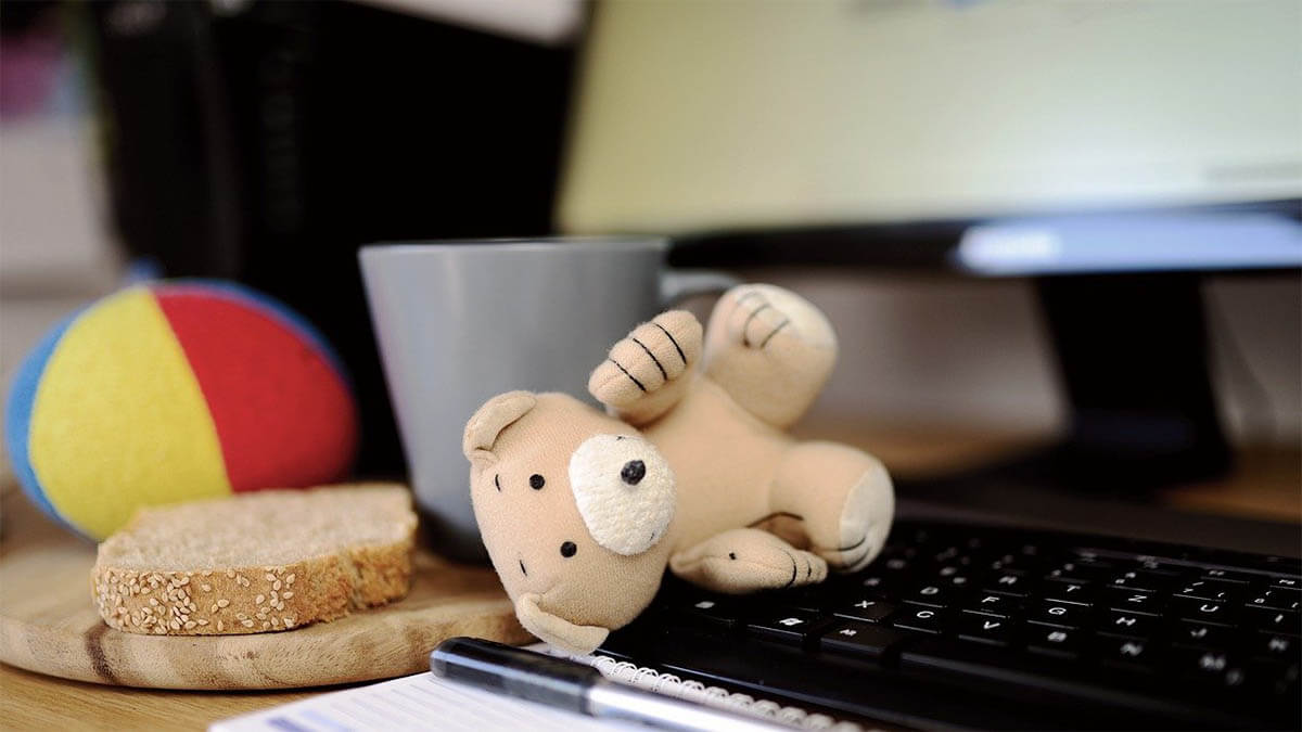 teddybaer-brot-computertastatur