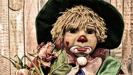clown puppe