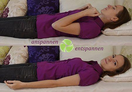 anspannnen-entspannen