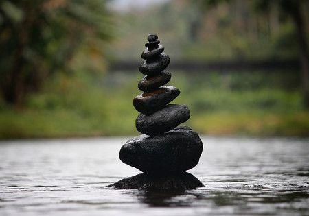 yoga steine