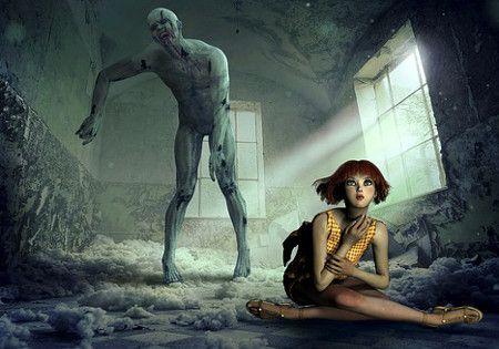 zombie schulmaedchen