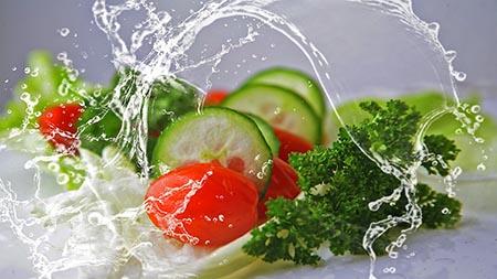 salat frisch halten