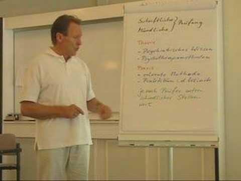 Ausbildung zum Heilpraktiker Psychotherapie