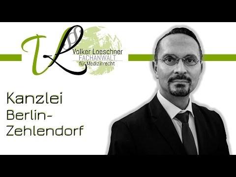 Kanzlei für Zahn- und Medizinrecht in Berlin-Zehlendorf | Rechtsanwalt Volker Loeschner